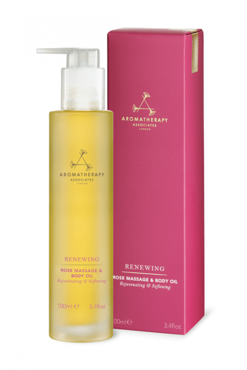 renewing rose massage body oil